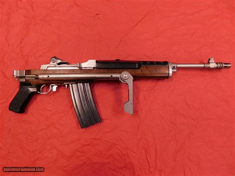 Ruger Ruger Mini 14 Gb Folding Stock.