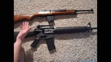 Ruger Ruger Mini 14 Or Ar 15.