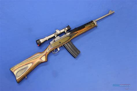 Ruger Mini 14 Ranch Rifle With Scope