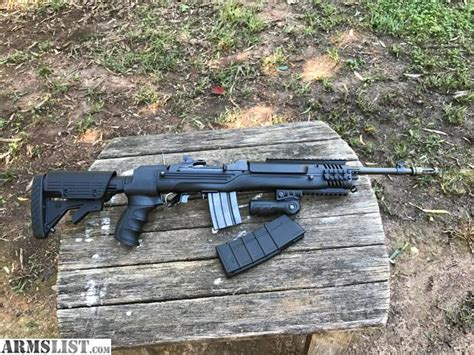 Ruger Mini 14 Tactical Armslist And Ruger Mini 14 Tactical With Sage Stock