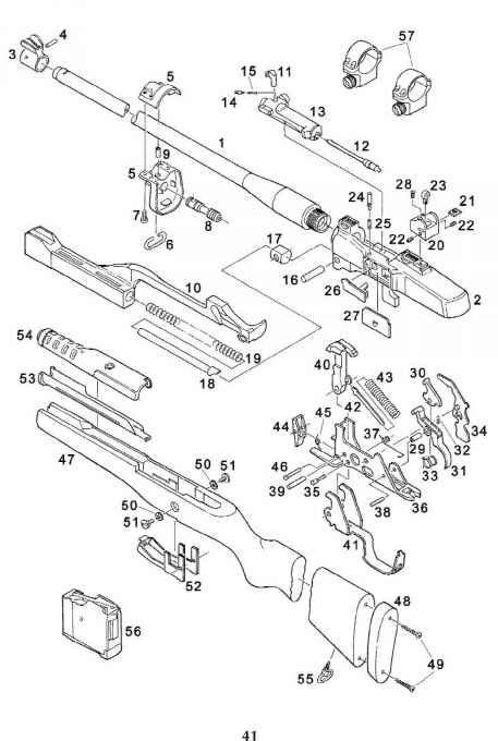 Ruger Mini 30 Parts List