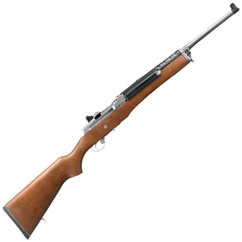 Ruger Mini14 Ranch Semiauto Rifle With Stainless Steel