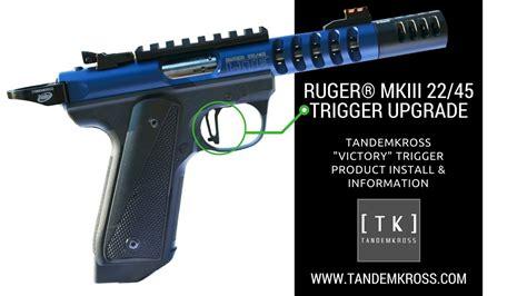 Ruger Mkiii 22 45 Trigger Upgrade Tandemkross Victory Trigger Information