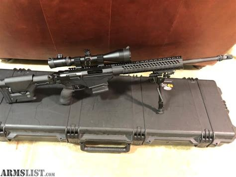 Ruger Precision Rifle 308 With Magpul Stock