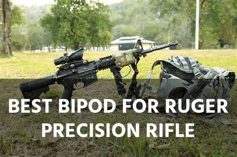 Ruger Precision Rifle Bipod Install