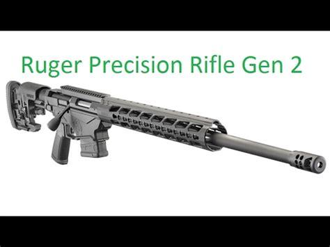 Ruger Precision Rifle Gen 1 Vs 2 Vs 3