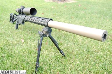 Ruger Precision Rifle Integrally Suppressed Barrel Youtube