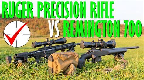Ruger Precision Rifle Vs Remington 700 Tactical