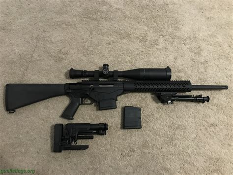 Ruger Precision Rifle With Leupold Mark 4