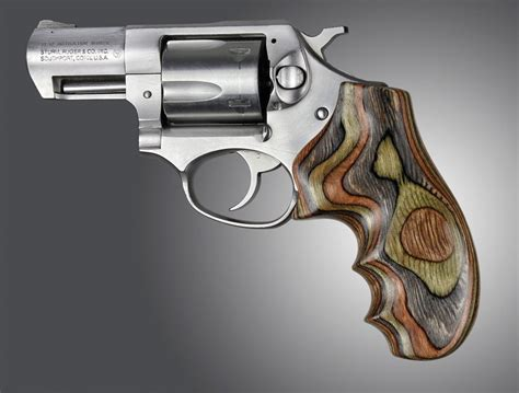Ruger Ruger Sp101 Hogue Wood Grips.