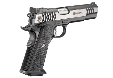 Ruger SR1911 Competition Centerfire Pistol Models