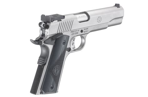 Ruger Sr1911 Target Centerfire Pistol Models And Trijicon Mro 1x25mm Reflex Sight W 2 0 Moa Dot Reticle