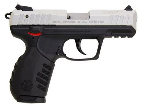 Ruger Sr22 Silver Anodized