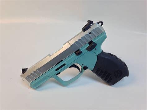 Ruger Sr22 Tiffany Blue Grip