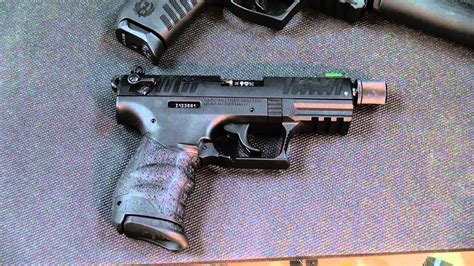 Ruger Sr22 Vs Walther P22 2016
