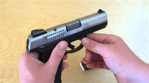 Ruger SR9 Purpose Of Mag Disconnect