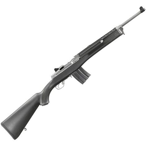 Ruger Stainless Steel Mini 14 223 Semi Automatic Ranch Rifle