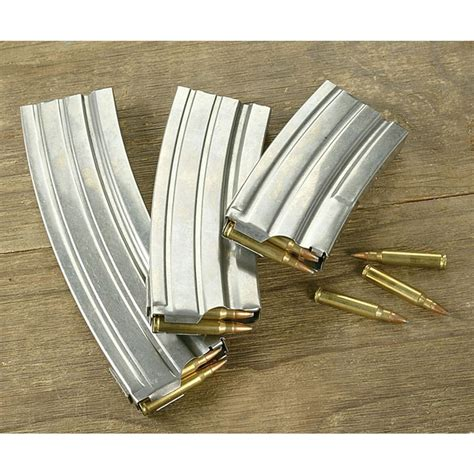 Ruger Stainless Steel Mini 14 Magazine