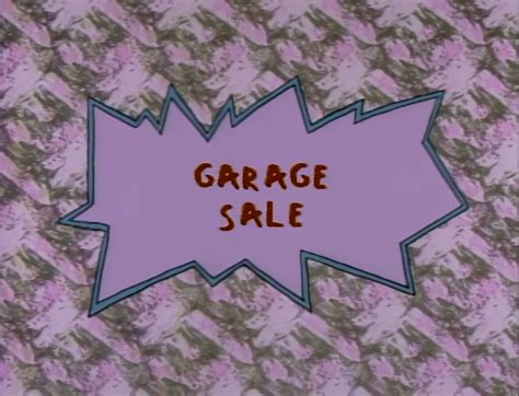 Rugrats Garage Sale Make Your Own Beautiful  HD Wallpapers, Images Over 1000+ [ralydesign.ml]