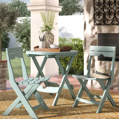 Rumble 3 Piece Bistro Set