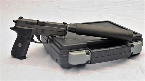 Running The Enhanced Sig Sauer P229 Legion Pistol Suppressed