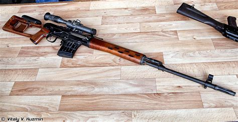 Russian Sniper Rifle With Pso