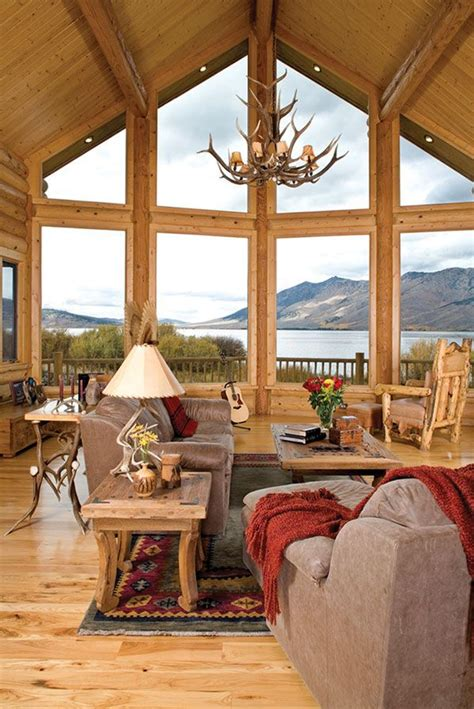 rustic cabin interior design plans