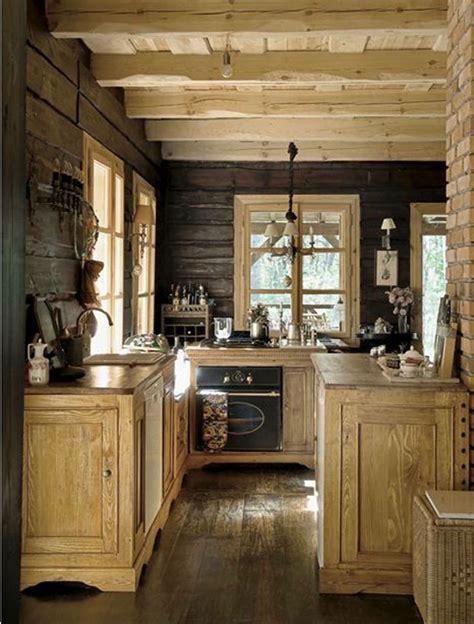 Rustic Cabin Kitchen Ideas