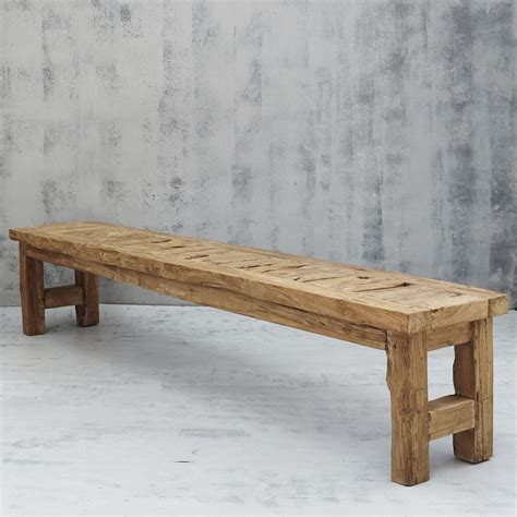 rustic wooden bench seats.aspx Image