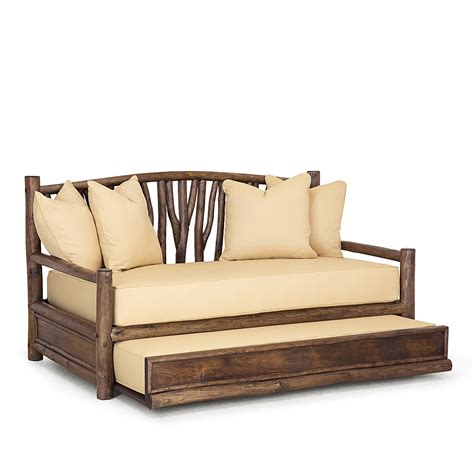 Rustic daybed with trundle Image