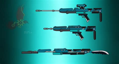 Rwby Assult Rifle Too Sniper Rifil