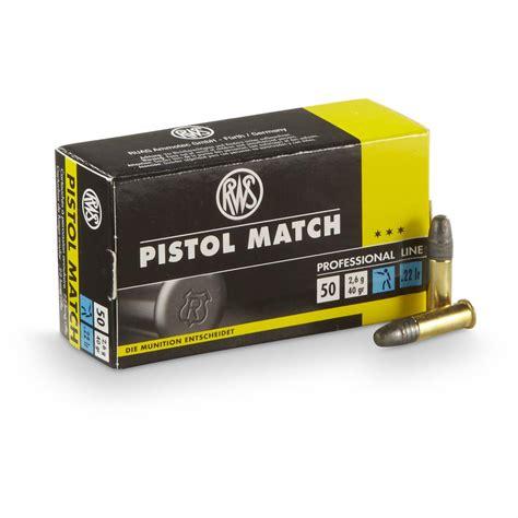 Rws 22 Ammo