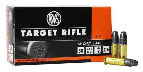 Rws 22lr Target Rifle Ammo Review