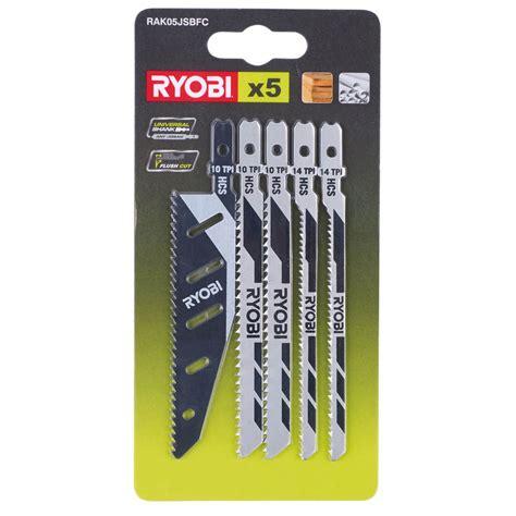 Ryobi jigsaw blades Image