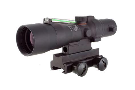 Reviews Trijicon ACOG 3 X 30 Green Crosshair Rifle Scope