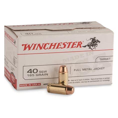 S W 40 Cal Bulk Ammo