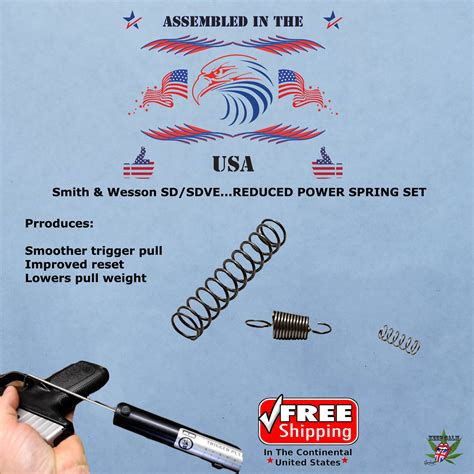 S W Sd9ve Replacement Spring Kit