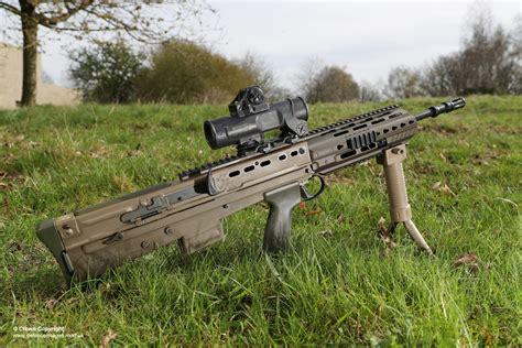 Sa80 A3 Assault Rifle