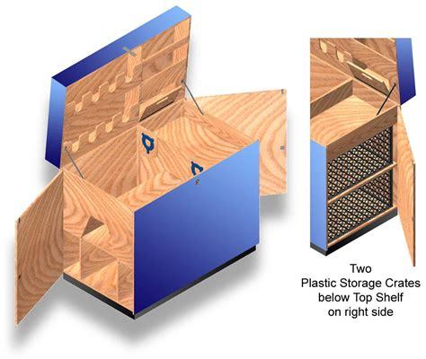 Saddle trunk plans Image