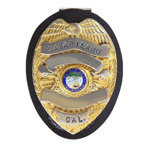 Safariland 7350-01-2 Circular Badge Holder