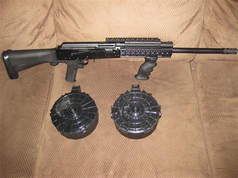 Saiga 12 Gauge Shotgun With Slide Fire For Sale