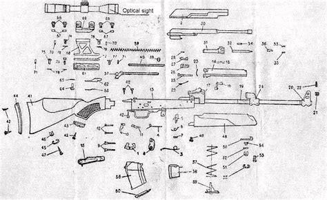 Saiga 308 Rifle Parts Diagram