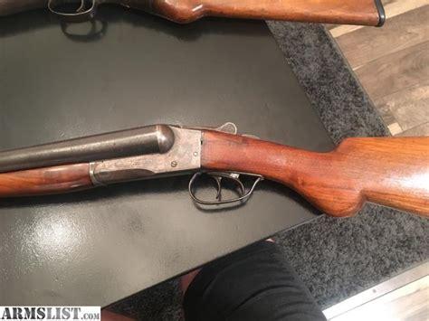 Sale A 1915 12 Gauge Double Barrel Shotgun