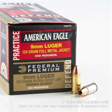 Sale On Bulk 9mm Ammo 500 Rounds 124grain