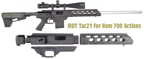 Sale Rem 700 Tac21 Sa Stock Chassis Modular Driven And Best Ar15 Lower Parts Kits Slickguns News