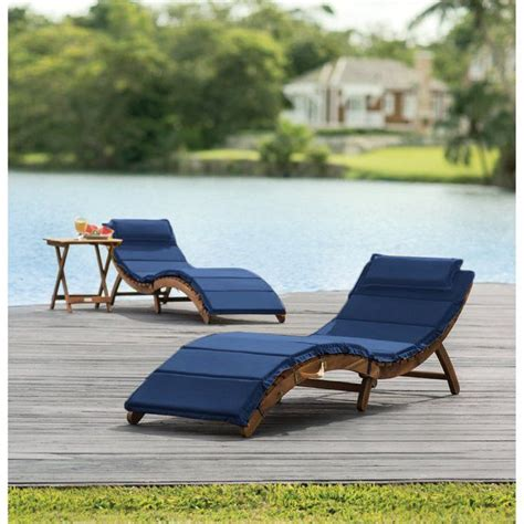 Salma 3 Piece Chaise Lounge Set with Cushion