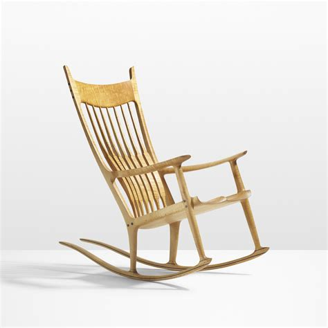 Sam maloof rocking chair Image