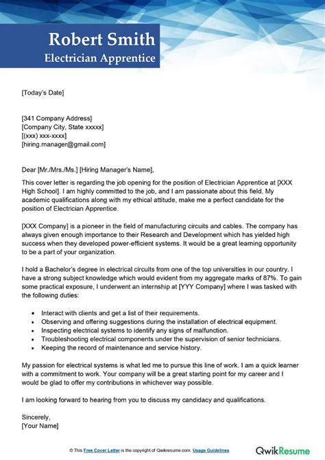 Sample Cover Letter For Valet Job   Job Application Letter ...
