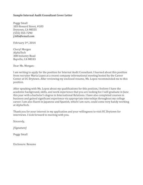 Cover Letter Format Internal Position Templates Cv Latex