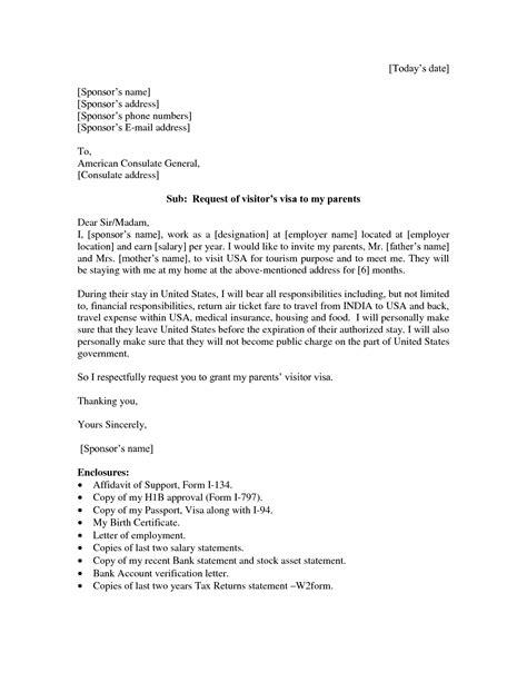 Sample Sponsorship Letter Us Visa | Cv Format For Lab Technician